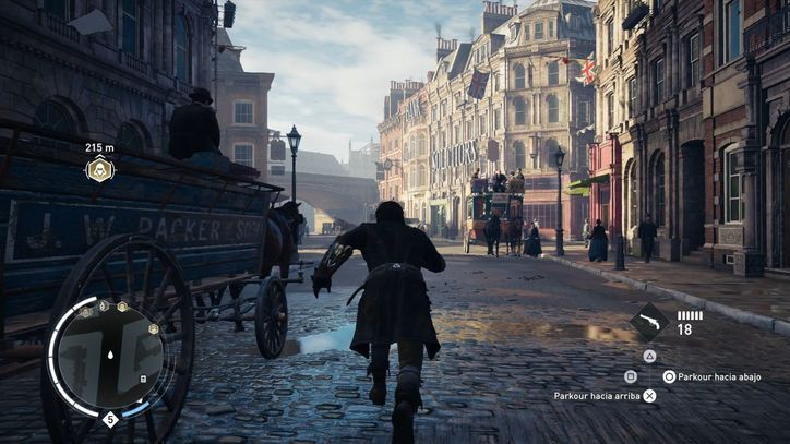 The recreation of London 1868 is simply amazing.