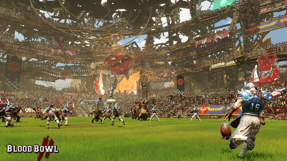 Once the kick is made, it should be remembered that in 'Blood Bowl' is almost everything allowed.