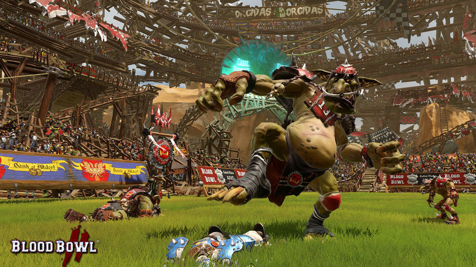 As you see, the Orcs have special abilities that helps them a lot, on the pitch.