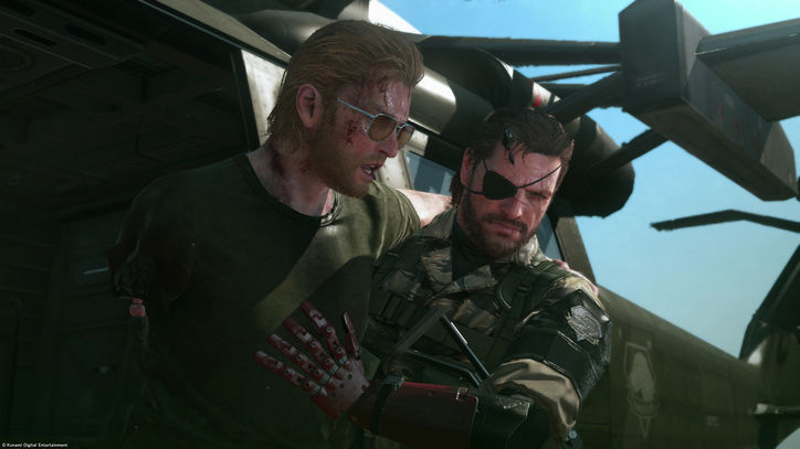 Kazuhiro Miller Big Boss and join forces to create Diamond Dogs, the army to carry out his revenge.