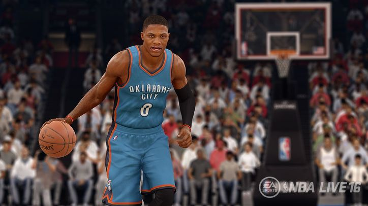NBA Live returns this year with Russell Westbrook as star player.