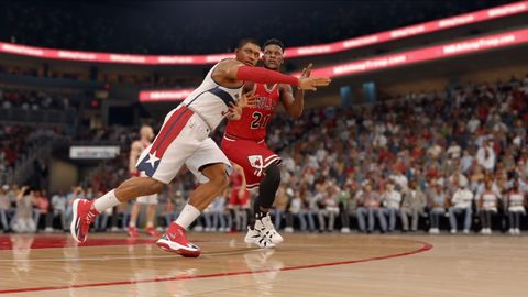 NBA Live 16 has a rather simple gameplay can be somewhat favorable for certain users.