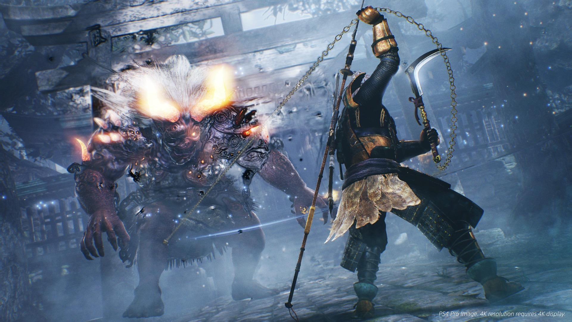 Hyped4 Nioh Poster Ps4 Region 3 English