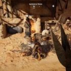 Assassin's Creed Origins we can pet cats