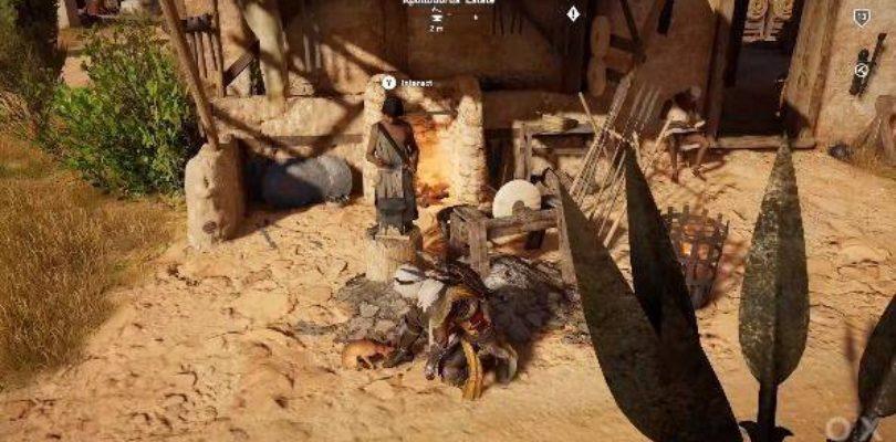 Assassin's Creed Origins we can pet cats