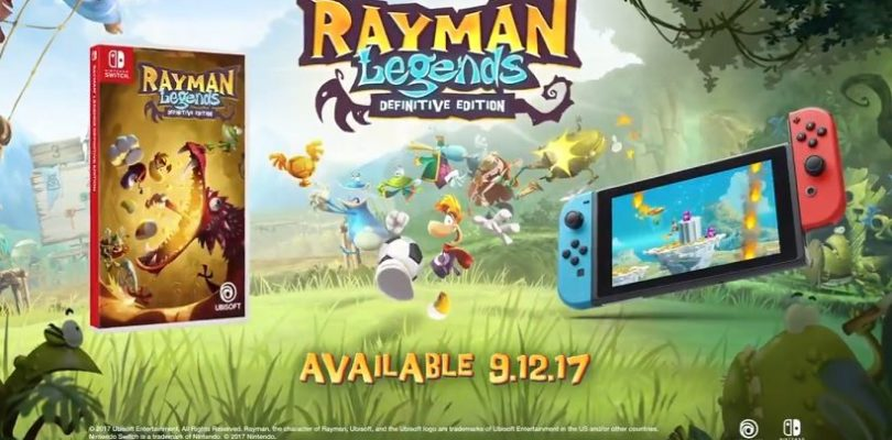 Rayman Legends: Definitive Edition will hit Switch on September 12