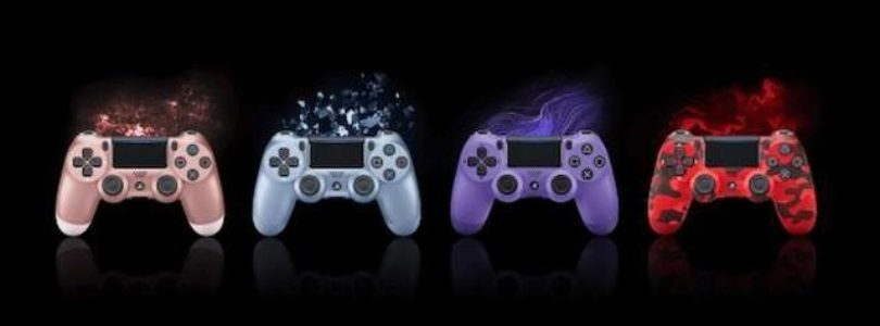Sony introduces new models of PS4 DualShock 4 with new colours